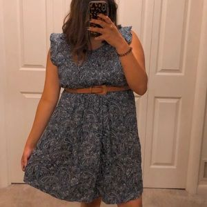 OLD NAVY Print Dress Paisley Plus